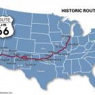 route 66 carte