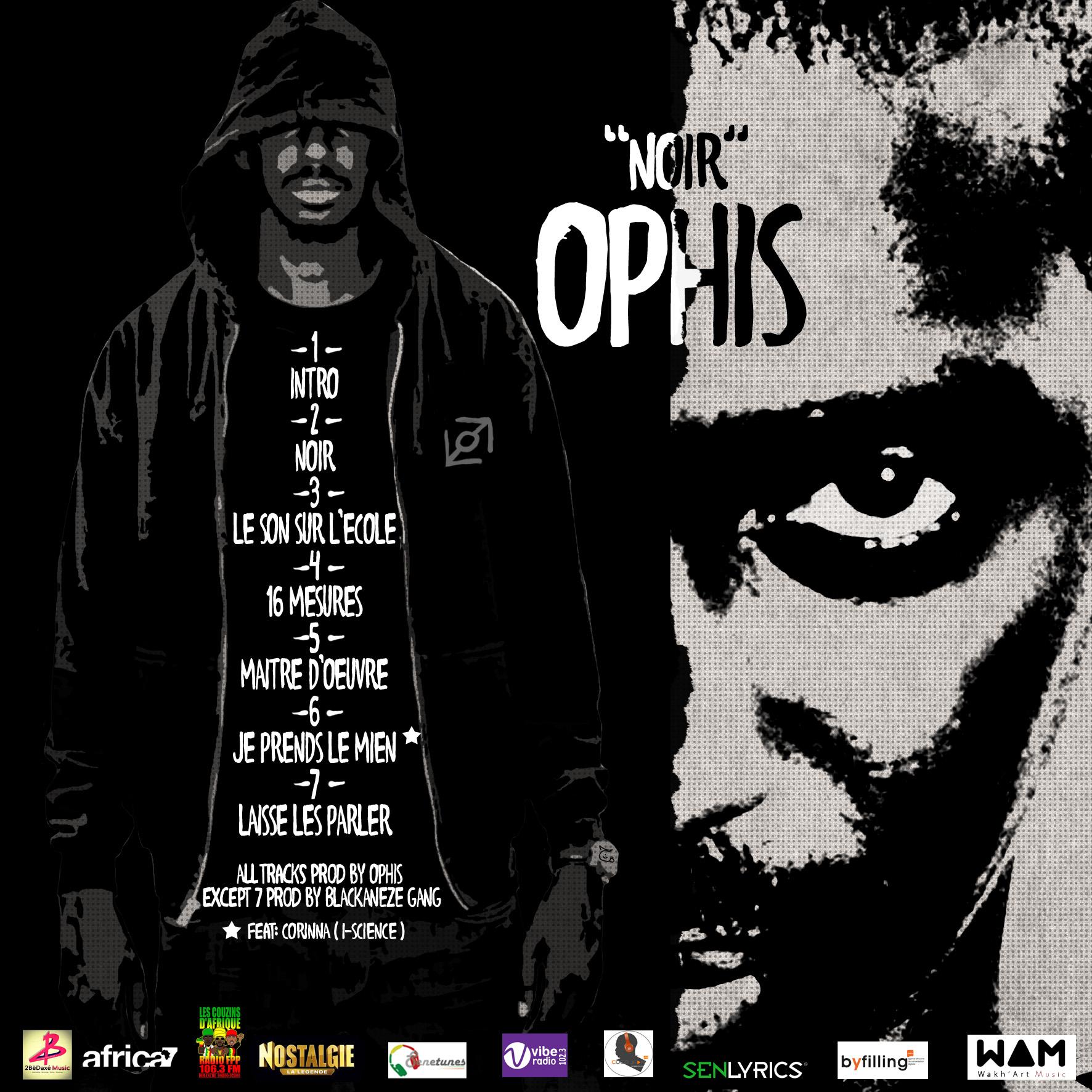 Ophis présente Noir