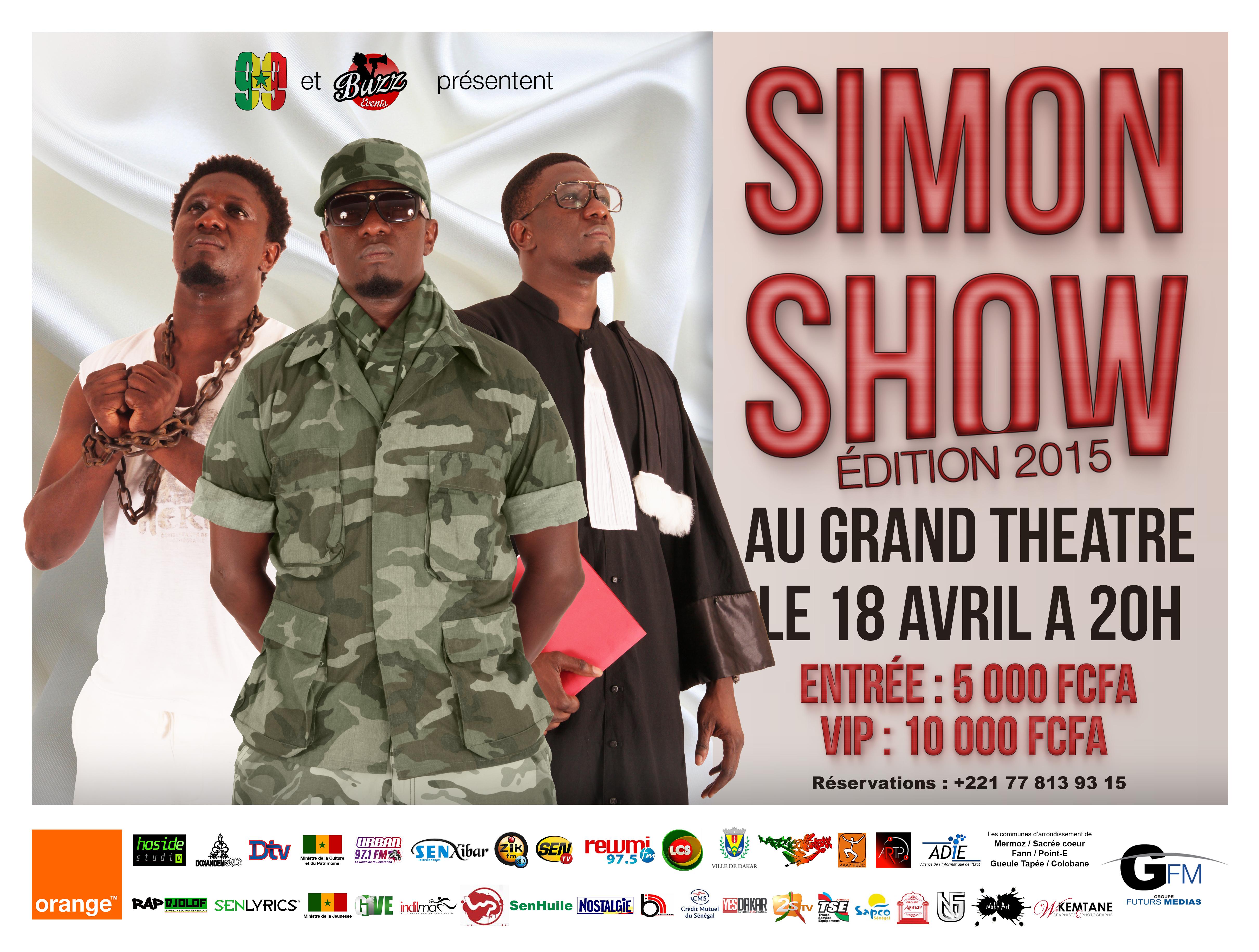 Simon Show 2015