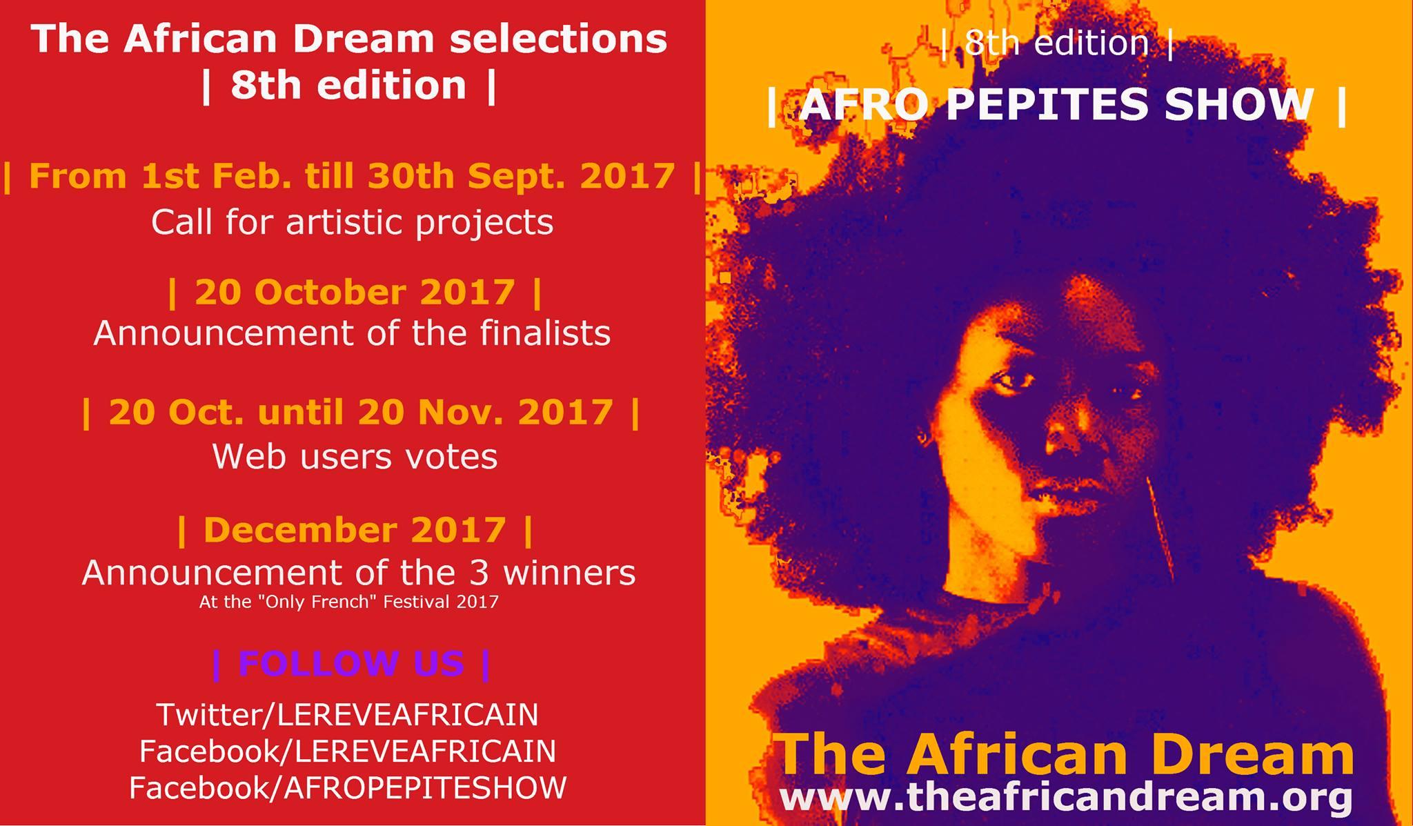 Appel à projets – Afro Pépites Show