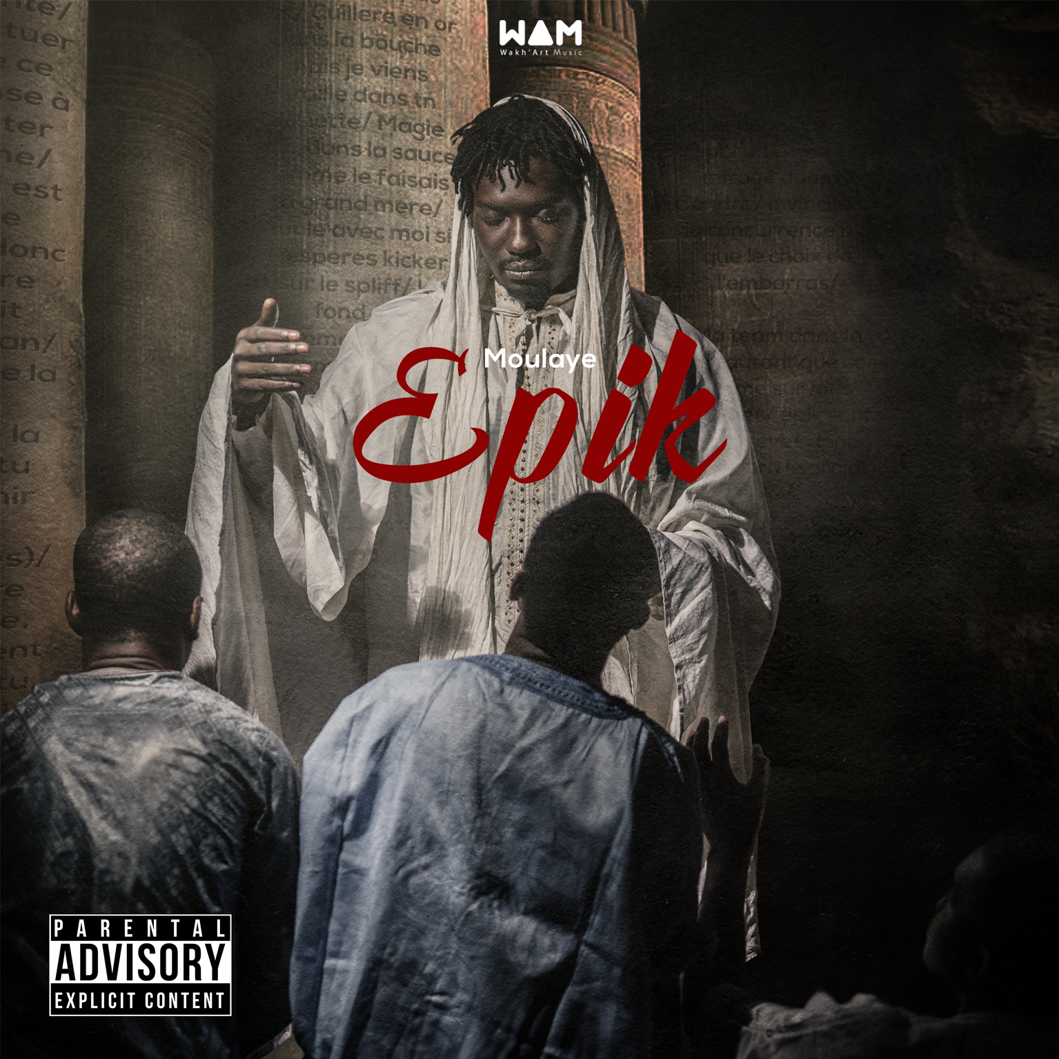Epik – le nouvel album de Moulaye – Dispo le 31 Mars