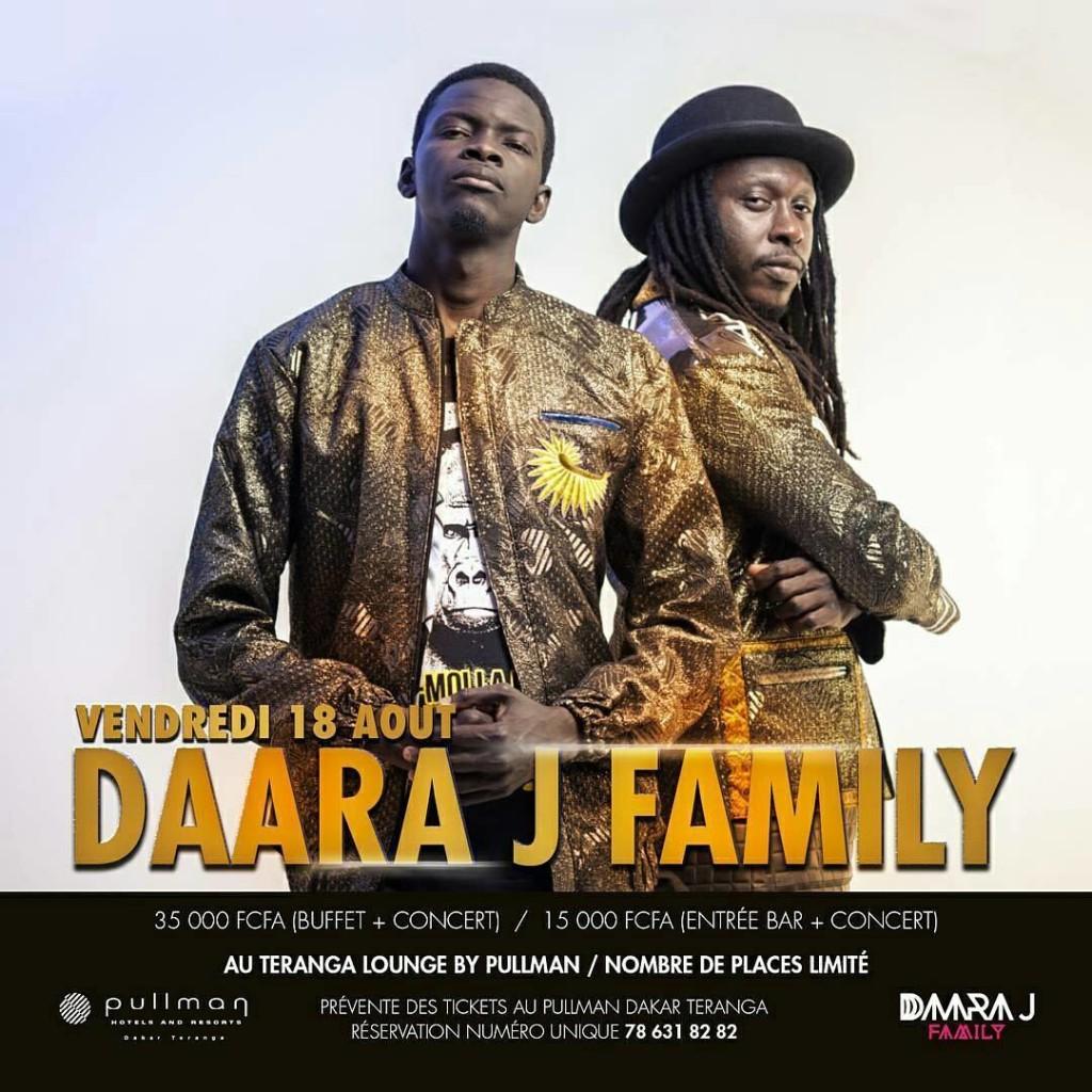 Time for live avec Daara J Family_Pullman Dakar Teranga