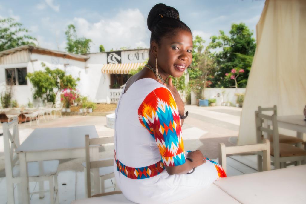 Cote d'Ivoire. Abidjan. 12/2016.. Hawa Bousim . Chanteuse du Burkina Fasso.