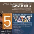 Affiche de promotion Appel à Candidature_2018