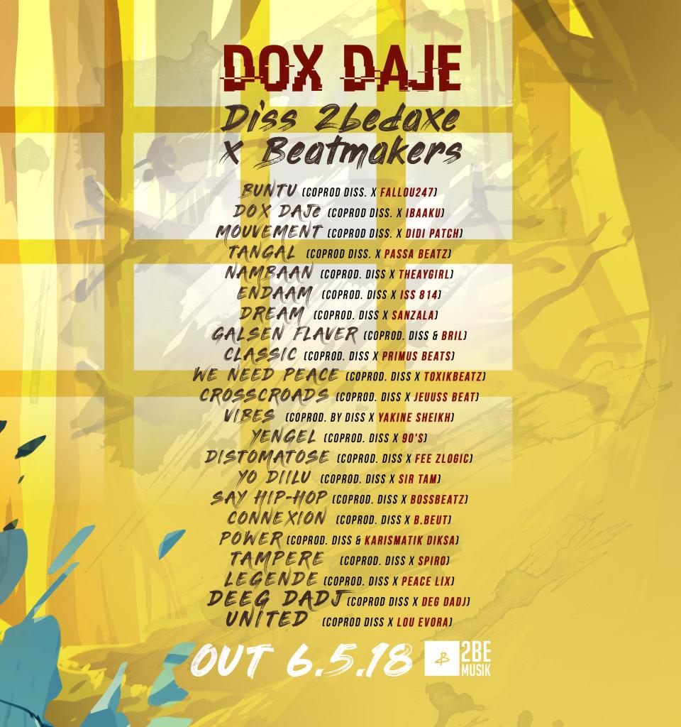 Dox Daje tracklist (1)